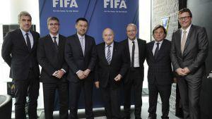 Encuentro entre la FIFA y el Barça