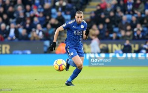 Newcastle United complete much-needed loan signing of Leicester City striker Islam Slimani