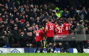 Everton 0-2 Manchester United: Sumptuous Martial and Lingard strikes get Red Devils back on track