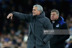 """José Mourinho: Manchester United played """"very well"""" and only improved in win at Everton"""