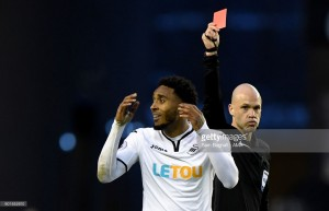 Wolves 0-0 Swansea City: Vinagre and Fer both see red in goalless FA Cup draw