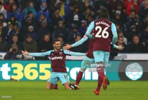 Huddersfield Town 1-4 West Ham United: Arnautović and Lanzini star as Hammers thrash Terriers