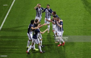 """Alan Pardew: """"It was a very important game in the calendar"""" as Baggies beat Brighton"""