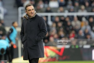 Carlos Carvalhal insists Swansea were denied a clear penalty in Newcastle stalemate