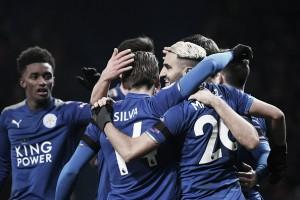 Com Vardy e Mahrez decisivos, Leicester consolida boa fase e derrota o Watford