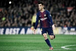 """Coutinho celebra estreia com classificação pelo Barcelona: """"Muito feliz"""""""