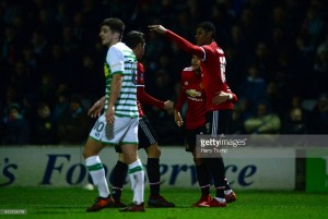 Yeovil Town 0-4 Manchester United: Professional Red Devils put their League Two opponents to the sword