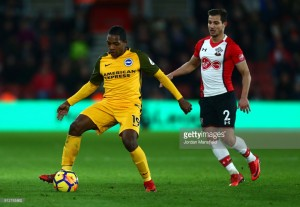 Southampton 1-1 Brighton & Hove Albion: Relegation rivals share the spoils at St. Mary's