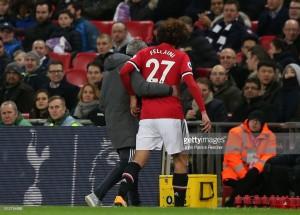 José Mourinho confirms Marouane Fellaini is available for Liverpool clash