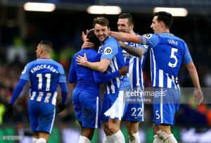 Brighton 3-1 West Ham: Seagulls tame The Hammers