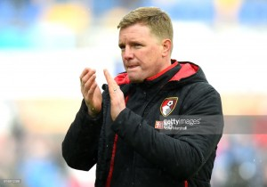 "Eddie Howe bemoans ""frustrating afternoon"" as his side fell to a 4-1 defeat against Huddersfield Town"