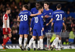 Chelsea 3-0 West Brom: Hazard shines as Chelsea's class eases pressure on Conte