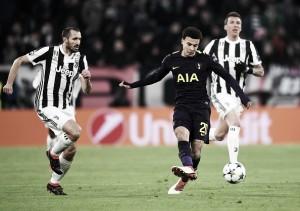 Tottenham e Juventus fazem 'final' em Wembley valendo classificação na Champions League