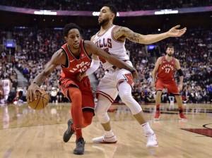 NBA - Toronto col brivido doma Chicago; The Brow e Boogie fanno volare NOLA ad Indiana