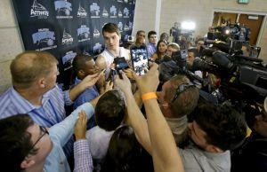 """Mario Hezonja, en el 'Media Day' de Orlando: """"La NBA es como un deporte totalmente diferente"""""""
