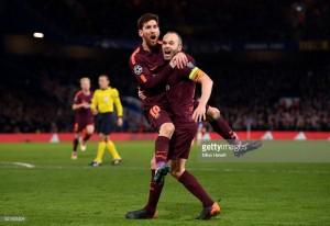 Chelsea 1-1 Barcelona: Messi strike punishes disciplined Chelsea