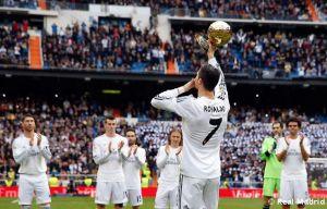 La fiesta de Cristiano Ronaldo, la música de Luka Modric