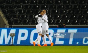 Swansea City 2-0 Sheffield Wednesday: Ayew ensures nervous Swans progress to quarter-finals