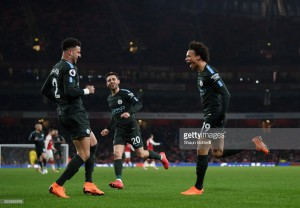 Arsenal 0-3 Manchester City: Ruthless City once again reak havoc on gutless Gunners