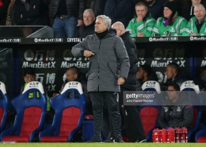 Jose Mourinho hails impact of substitutes as United come from behind to beat Crystal Palace