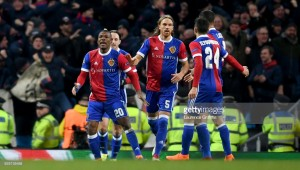 Manchester City (5) 1-2 (2) FC Basel: RotBlau down hosts but Guardiola's side cruise into Champions League last-eight