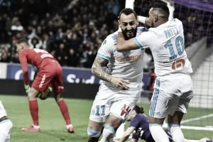 Com gol de Mitroglou, Marseille vence Toulouse fora de casa e segue na perseguição ao Monaco