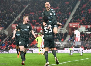 Pep Guardiola praises David Silva's starring performance in significant Stoke victory