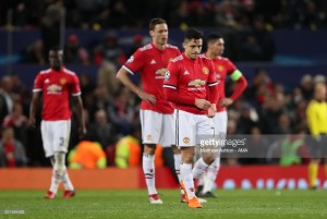 Manchester United (1) 1-2 (2) Sevilla: Ben Yedder double yanks uninspired United out of Europe