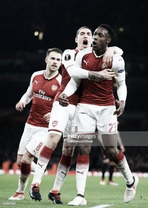 Arsenal volta a vencer e está nos quartos de final da Liga Europa