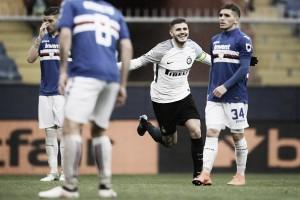 Icardi dá show e comanda goleada da Internazionale sobre Sampdoria