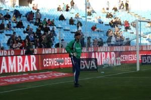 """Leo Franco:""""Poder llevar el escudo del Real Zaragoza es un orgullo, no me importa la categoría"""""""