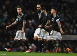 Argentina 2-0 Italy: Messi-less Argentina win comfortably in Manchester