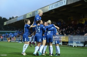 UEFA Women's Champions League: Chelsea 3-1 Montpellier - Blues reach their first European semi-final in style