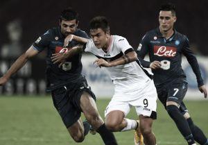 Diretta Palermo - Napoli, risultati live Serie A