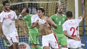المساكني يخطف الفوز لنسور قرطاج في الداربي المغاربي ضد الجزائر