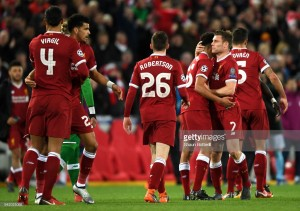 Liverpool 3-0 Manchester City: Liquid Liverpool take a significant lead against mediocre Man City