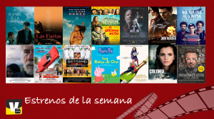 Estrenos de cine: 11 de noviembre