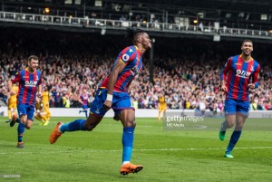 Crystal Palace 3-2 Brighton and Hove Albion: Zaha brace seals wild A23 derby win for Eagles