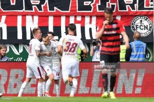 FC Ingolstadt 04 1-11. FC Nürnberg: Der Club miss chance to go top