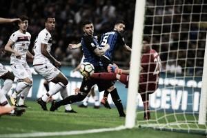 Internazionale passa fácil pelo Cagliari e reencontra caminho das vitórias na Serie A