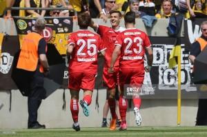 Dynamo Dresden 1-2 Fortuna Düsseldorf: Rouwen Hennings's dramatic winner seals Bundesliga promotion