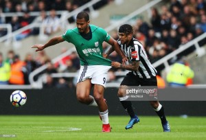 Newcastle United confirm Salomon Rondon loan from West Brom as Dwight Gayle heads the other way