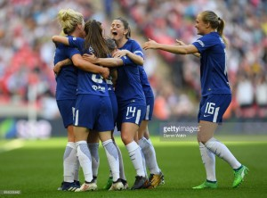 FA Women's Cup final: Arsenal 1-3 Chelsea - Blues crowned at Wembley