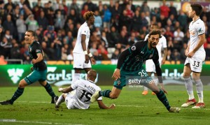 Swansea City 0-1 Southampton: Gabbiadini's instinctive finish leaves Swans on brink of relegation