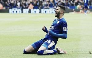 """Mahrez se confiesa: """"El momento más divertido de la temporada pasada fue el colapso del Tottenham"""""""