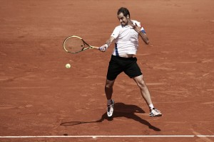 French Open: Richard Gasquet sees off Malek Jaziri in four sets, sets up Rafael Nadal clash