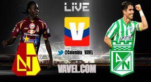 Tolima vs Atlético Nacional, cuartos de final de la Copa Postobón 2014 en vivo online