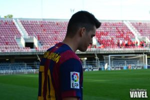 El Barça B tropieza dos veces con el Llagostera