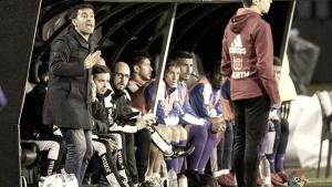"""Asier Garitano: """"Es una pena perder después de igualar un 2-0"""""""