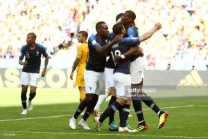 France 2-1 Australia: Late Pogba strike sees Les Bleus overcome brave Socceroos in group C opener